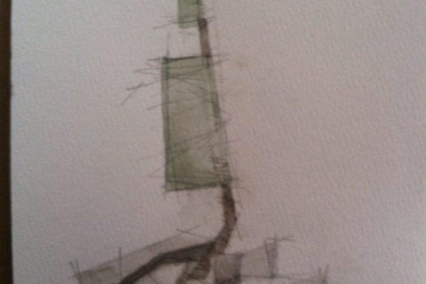 Sunday Sketch by Gregory Gibboney